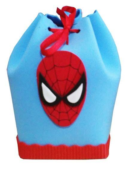 2c9b87743 Bolsitas Golosineras Spiderman En Goma Eva. - $ 26,00 en MercadoLibre