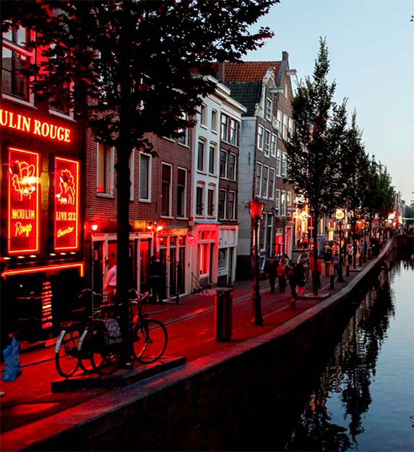 Canales de Amsterdam, Holanda, Netherland
