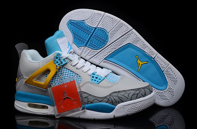 air jordan retro 4 blue