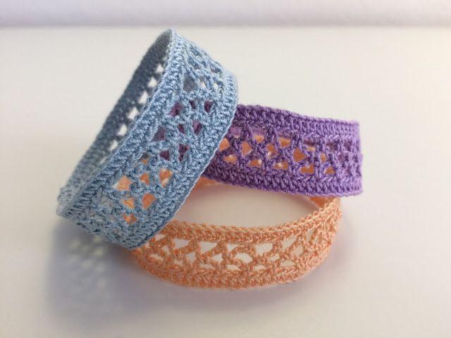 selezione migliore 1ca06 84554 Il Blog di Sam: How to crochet a bracelet: Archetti ...