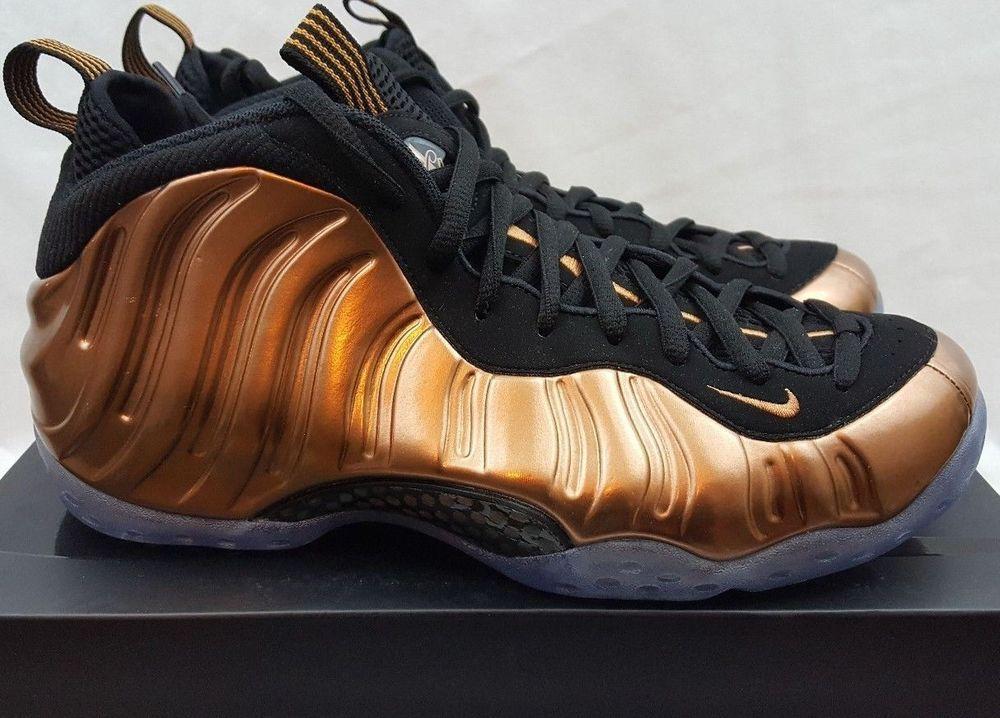 sports shoes e925d e917e Nike Air Foamposite One Metallic Copper Black 314996 007 Size 9.5  Nike   BasketballShoes