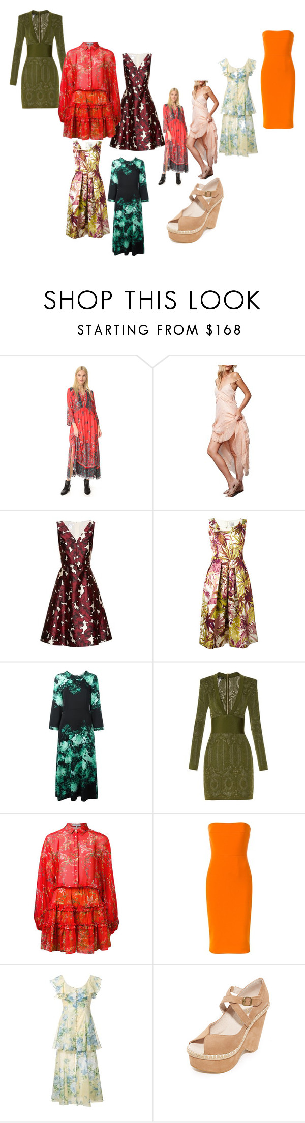 Best Fashion Dresses By Denisee Denisee On Polyvore Featuring Free People Oscar De La Renta Eggs Goat Balmain Alexis Fashion Fashion Dresses Cool Style