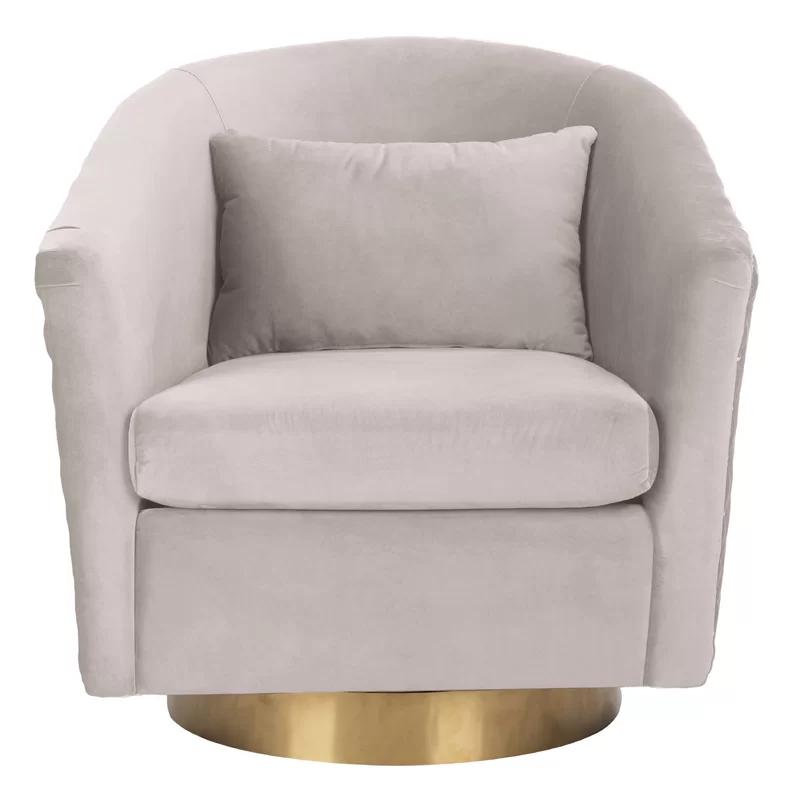 Skye Swivel Barrel Chair in 2020 Barrel chair, Tub chair