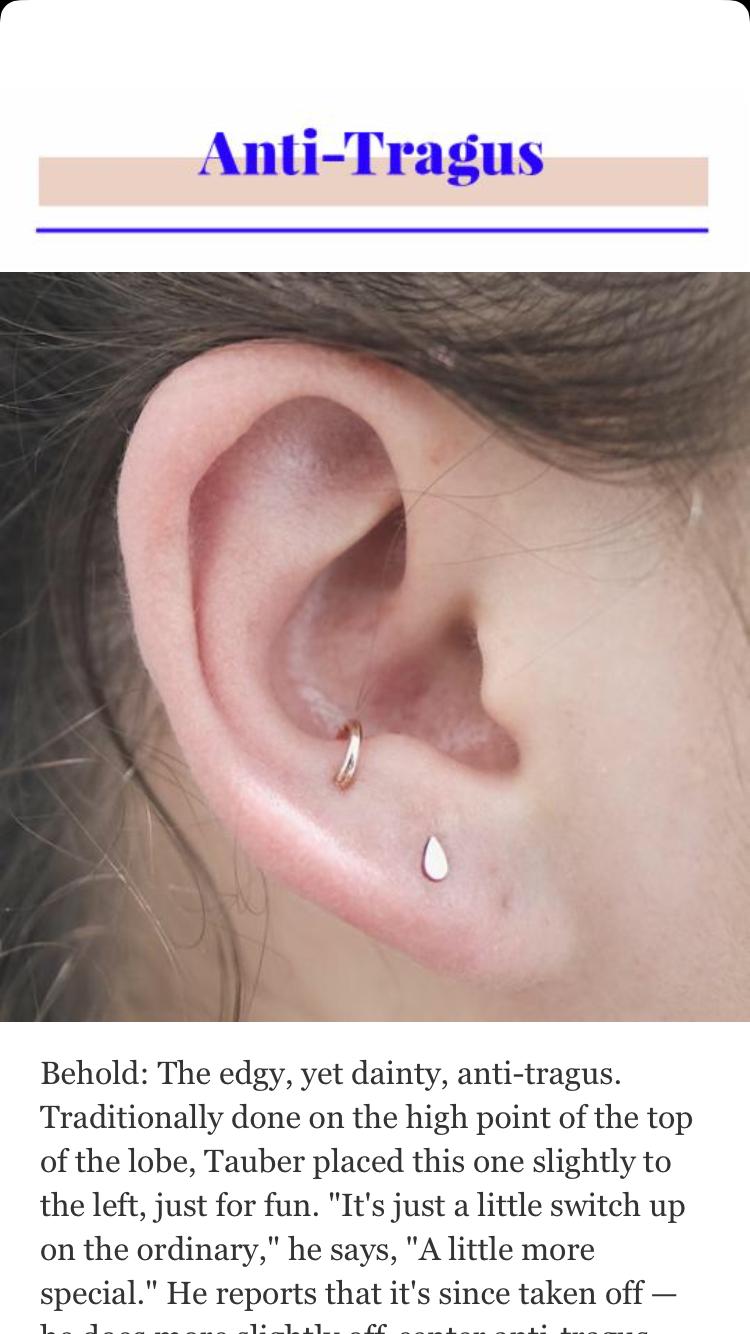 Different piercing ideas  Pin by Jauregui Danae on piercing  Pinterest  Piercings Ear