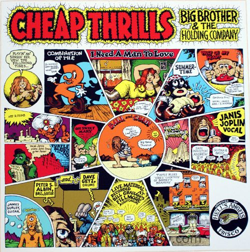 Cheap Thrills by Robert Crumb at the Illustration Art Gallery