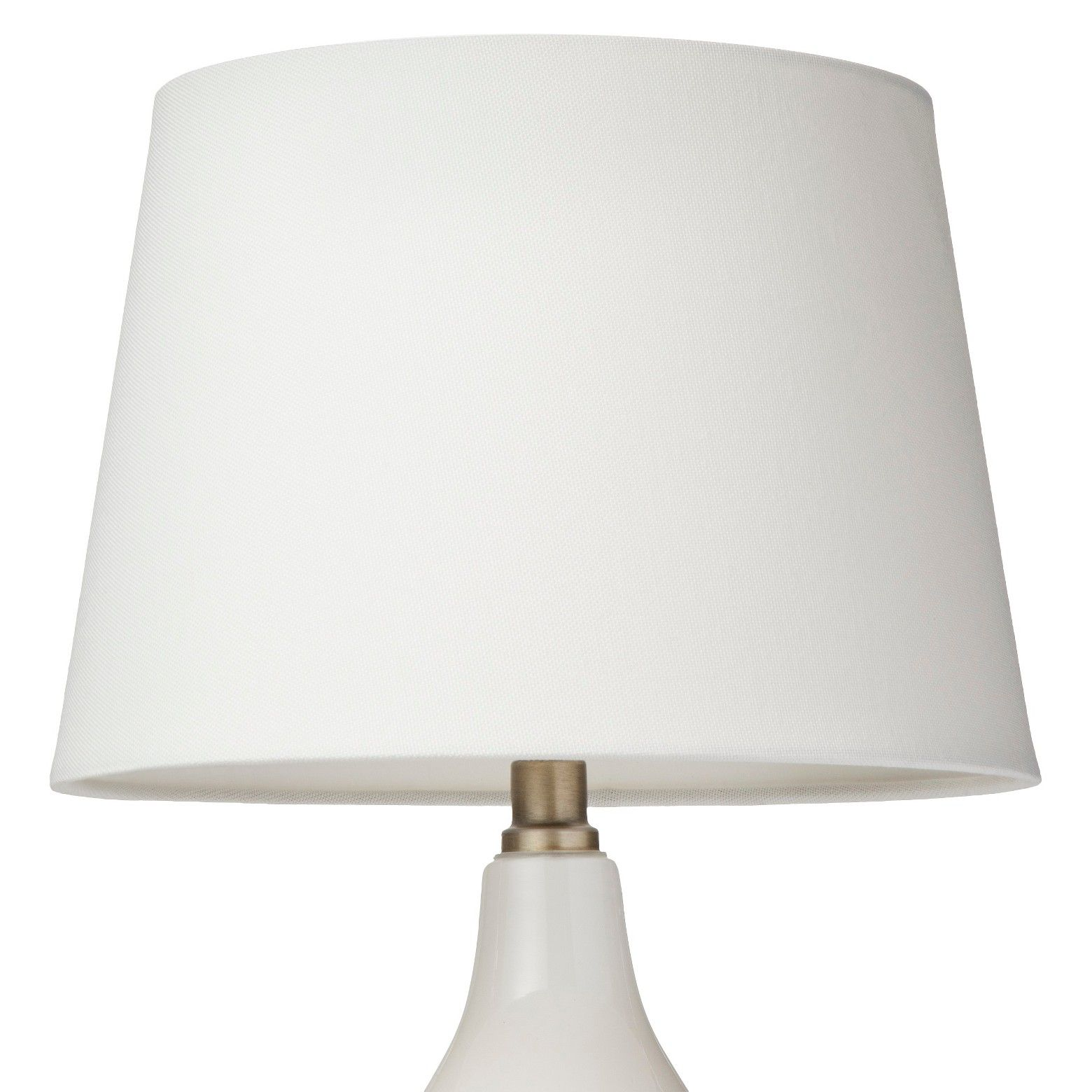 Add Simple Elegance To Any Room With This Threshold Lamp Shade
