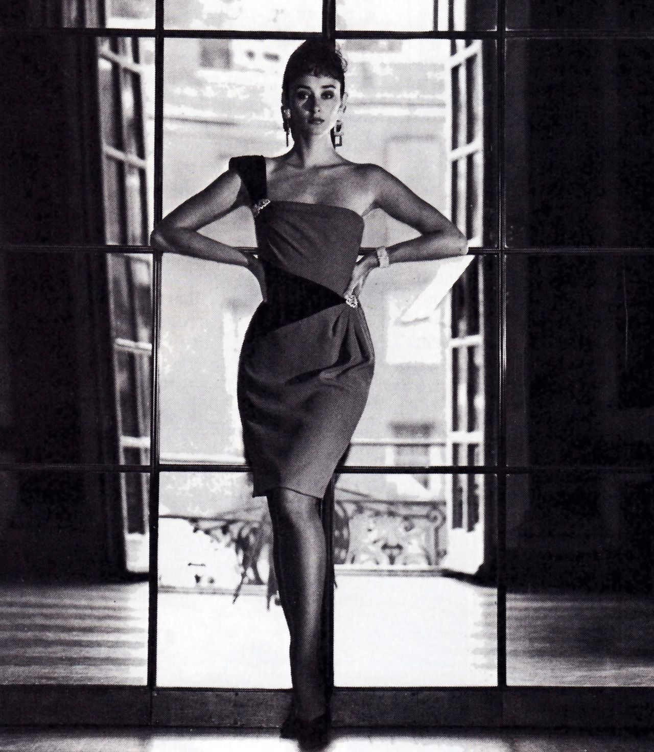 Carolyne Roehm/Saks Fifth Avenue, Town & Country magazine, July 1985.