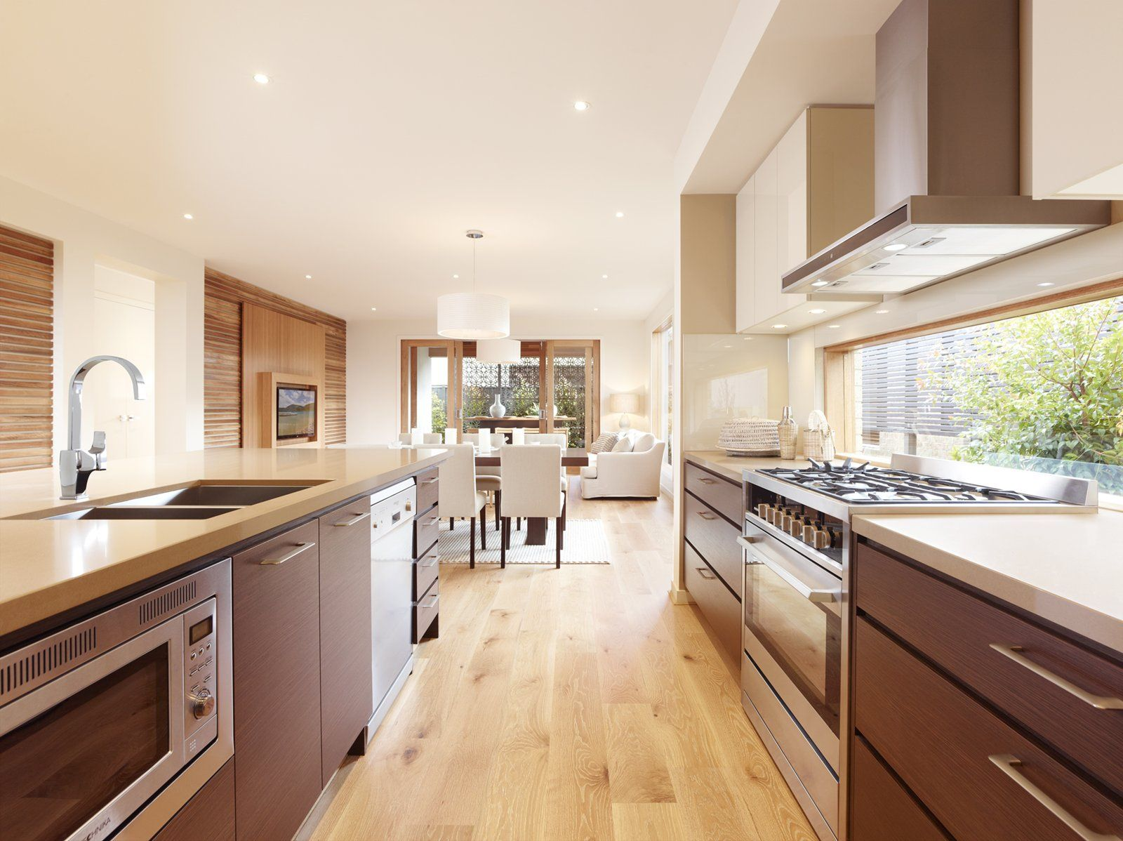 The Caspian Main Vue kitchen design | Architecture | Pinterest ...