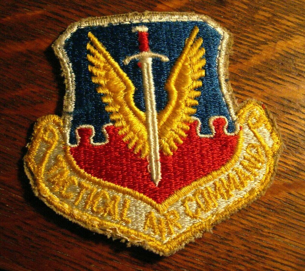Tactical Air Command Lapel Patch Vintage United States Air