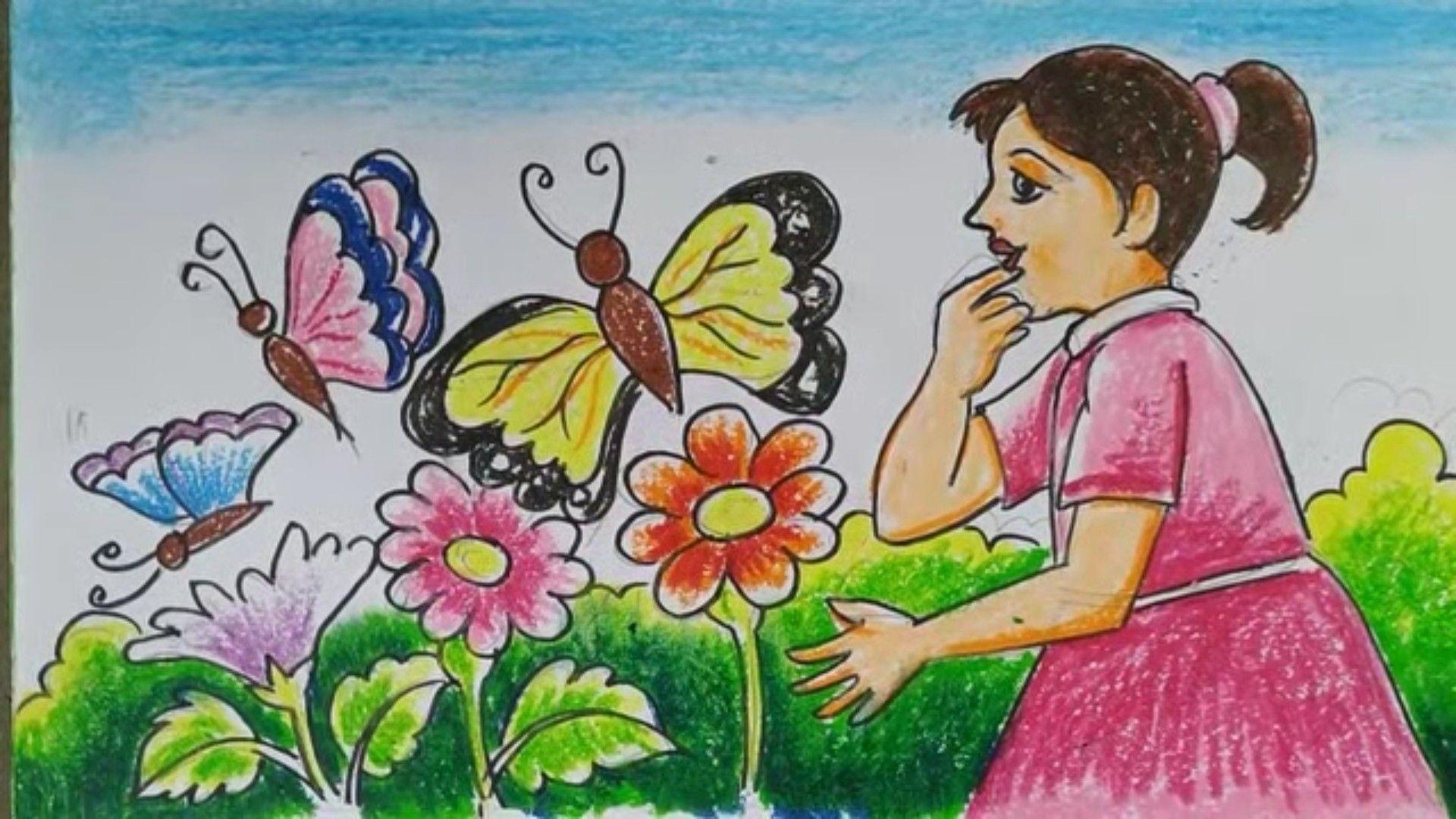Art Drawings For Kids Image By Priya Ganesh On Oil Pastels