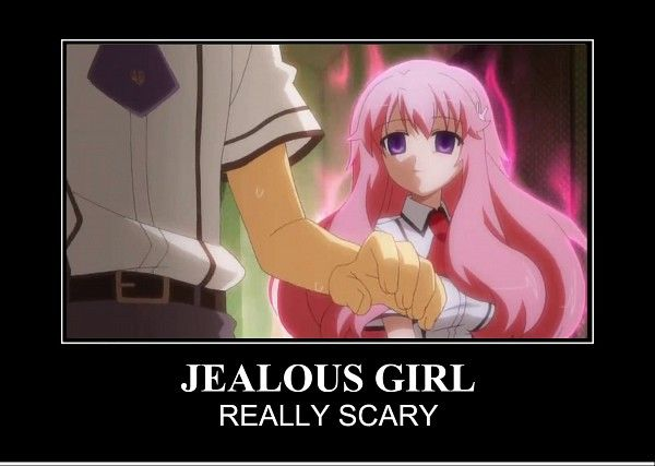 Do Not Mess With Jealous Anime Girls It Will Not End Well For You