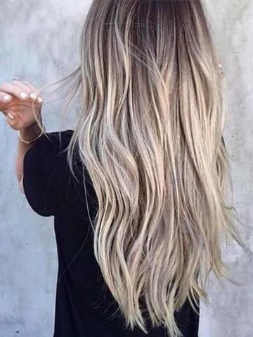 Tape in Human Hair Extensions (Ash Blonde with Blonde)