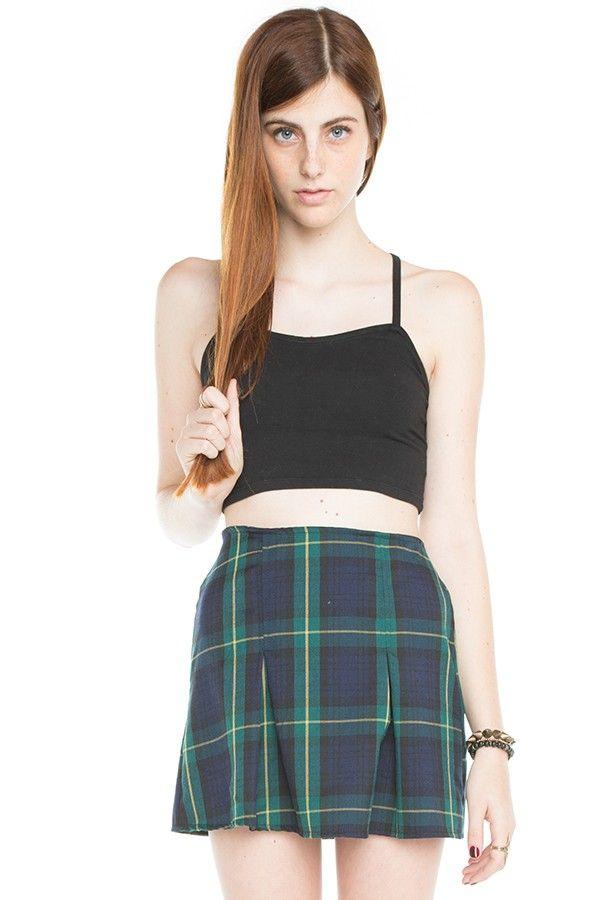 Brandy Melville Kaitlee Skirt Bottoms Clothing