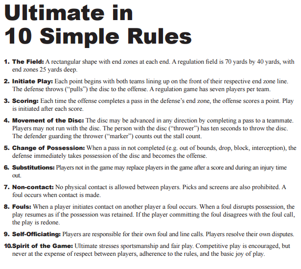 how to play ultimate frisbee - Google Search | It's my ...