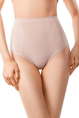 30affd60d82 MD Womens Compression Shapewear Tummy Control Briefs Rear And Bottom Body  Shaper Small Nude