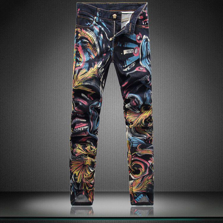 0d38140d0f01cb painted jeans - Google Search | altered jeans | Painted jeans, Gents ...