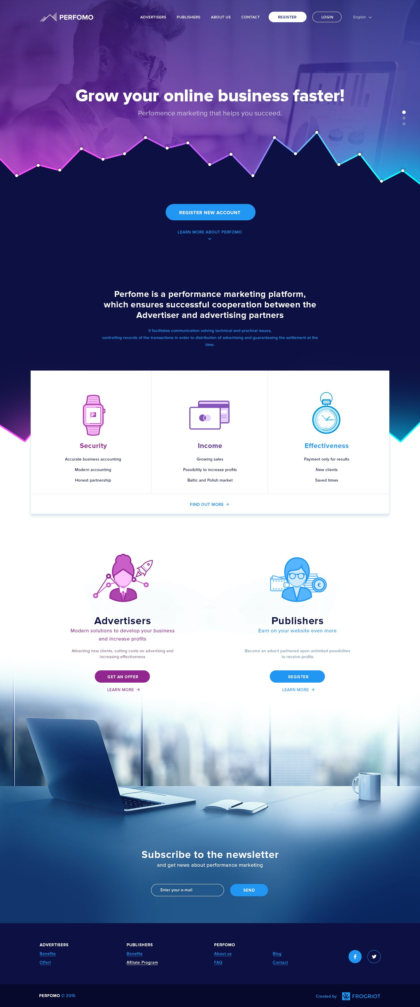 Website Design Inspiration For Home Page Of Software Company