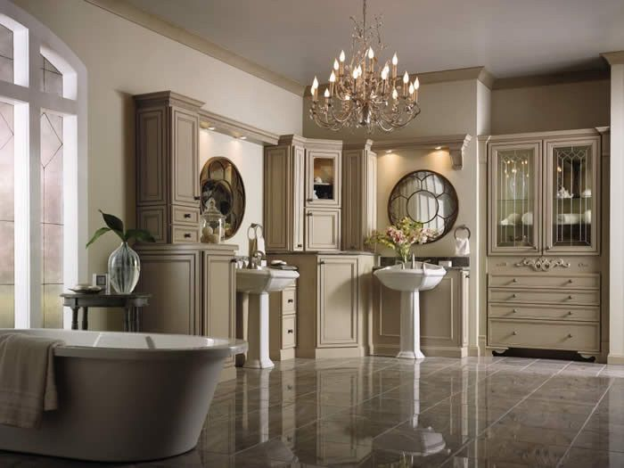 All White Bathroom Cabinets Fit For A Queen Columbia Md