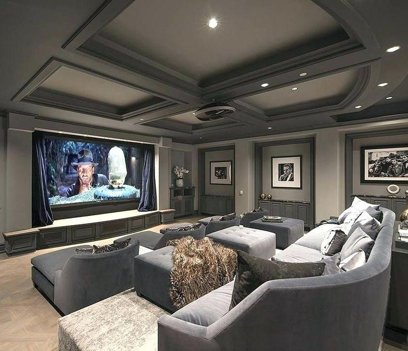 13 Interesting Home Theater Ideas For 2019 Interior