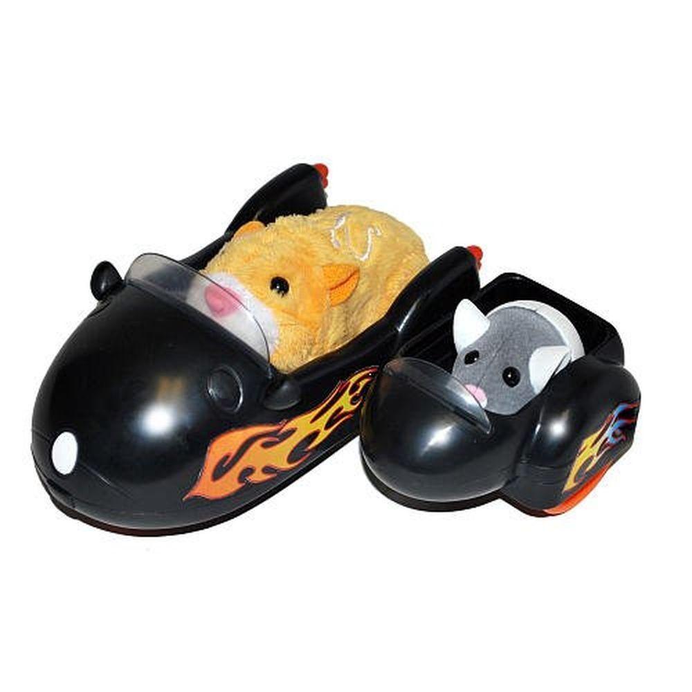 Zhu Zhu Pets Vehicle Playset Hamcycle Sidecar Motorcycle Vehicle