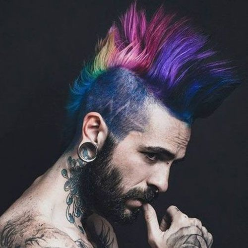 21 Punk Hairstyles For Guys With Images Mens Hair Colour