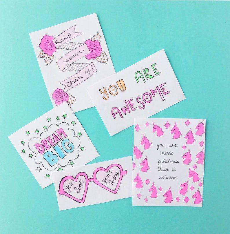 Printable Random Acts of Kindness, mini notes, kid