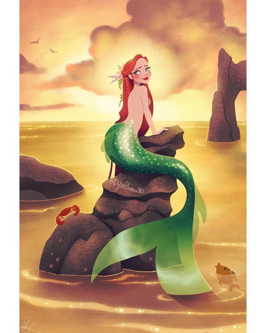 Baju Mermaid Mita Ariel