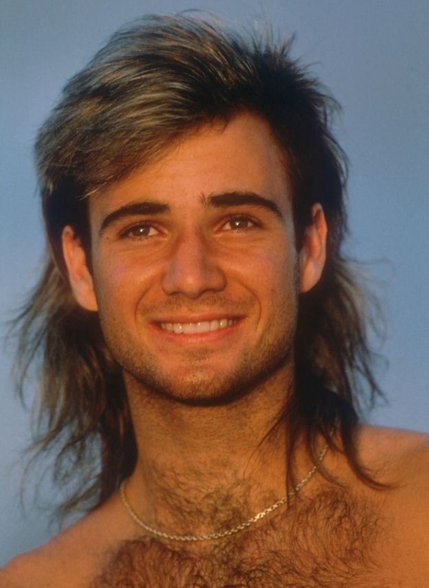 Andre Agassi Hair Wig