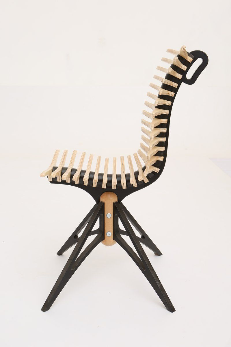 Ergonomic Chair that Looks Like a Spine Move It Chair Home