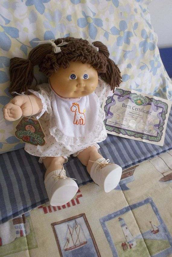 Cabbage Patch Kids Doll Girl Ashanti Bethany 1978 1982 Clothes Shoes And Socks 16 Quot Inche Cabbage Patch Kids Dolls Cabbage Patch Babies Cabbage Patch Kids