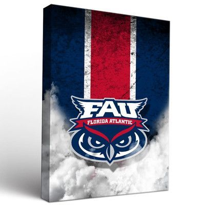 Victory Tailgate NCAA Vintage Version on Canvas Graphic Art