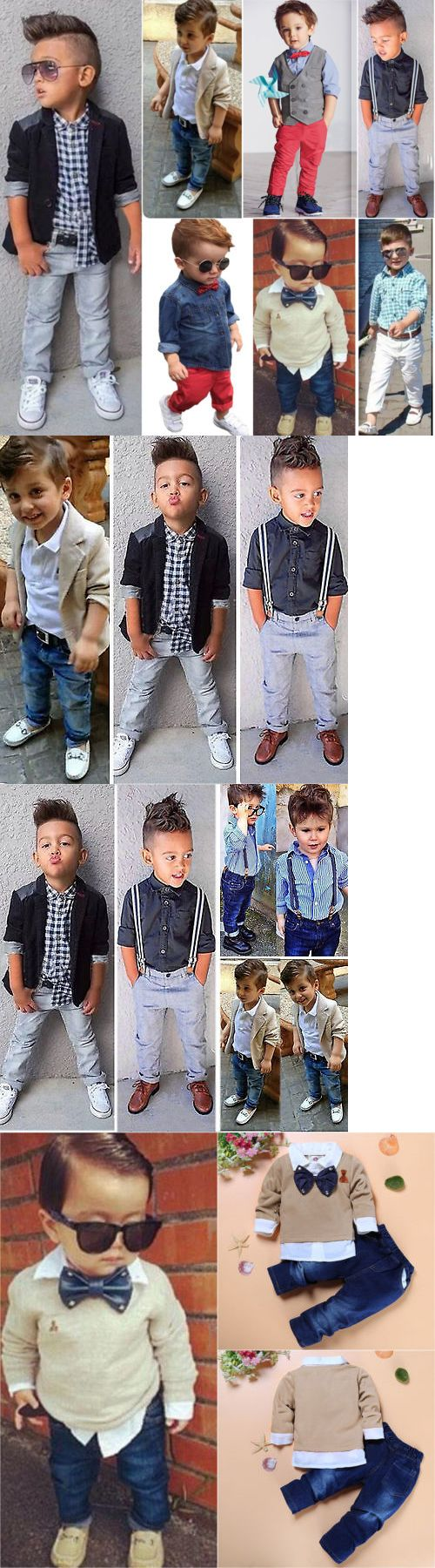 a1f00d78a3ea Boys Clothing Sizes 4 and Up 11452  Toddler Kids Baby Boys Shirt ...
