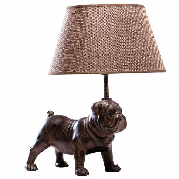Petit Bouledogue Bulldog Table Lamp With Images French Table