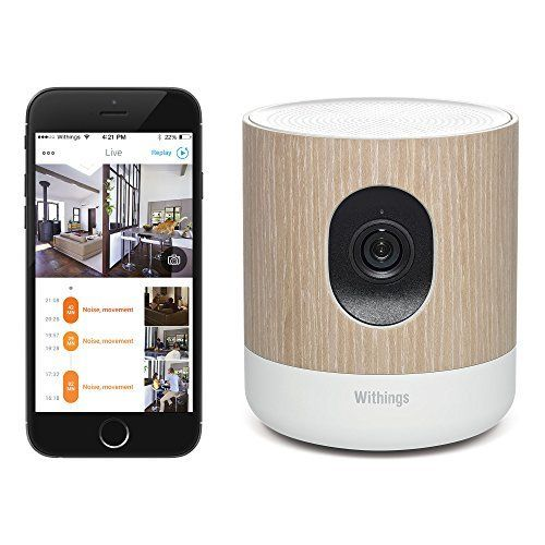 Withings Home u2013 Wi-Fi Security Camera with Air Quality Sensors