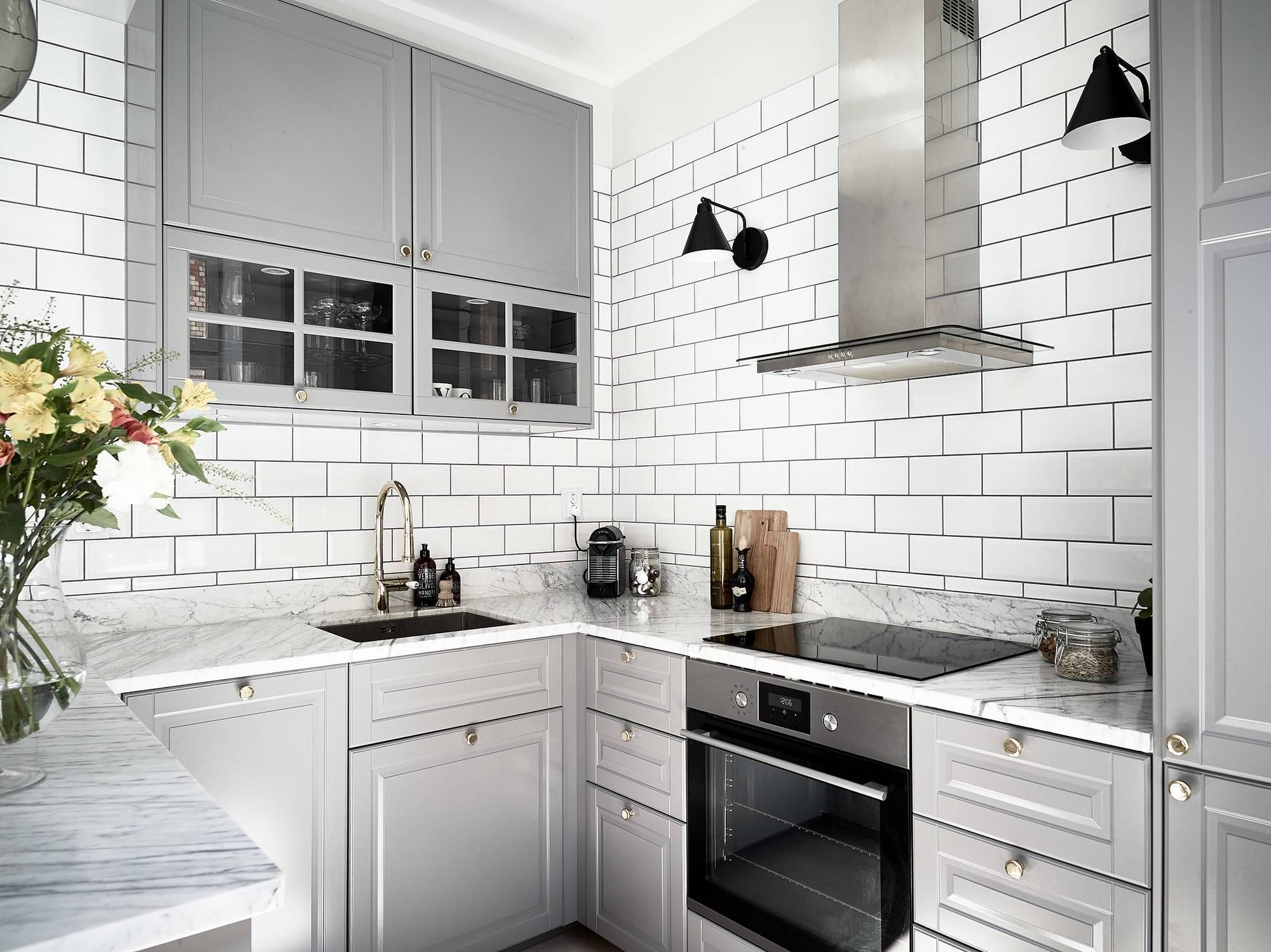 beautiful kitchen with lots of natural light  coco lapine
