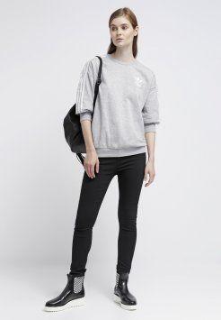 adidas originals genser dame grå