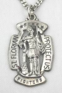 Firefighter jewelry saint florian maltese cross shield sterling firefighter jewelry saint florian maltese cross shield sterling silver pendant aloadofball Choice Image