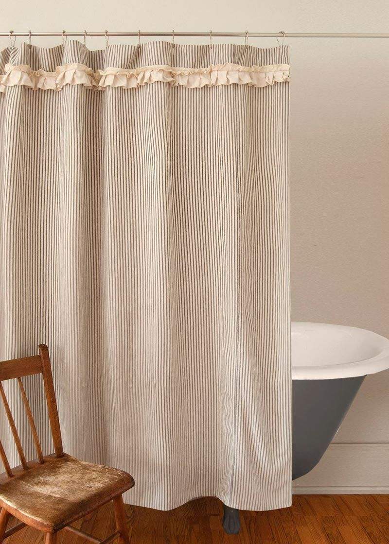A Wonderful Addition To Your Bathroom Awaits With This Downton Village Shower Curtain By