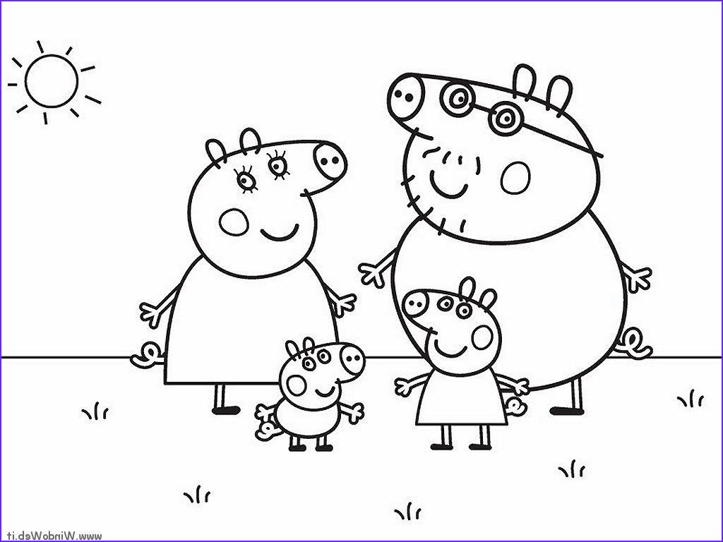 Peppa Pig Coloring Pages Nick Jr Pictures