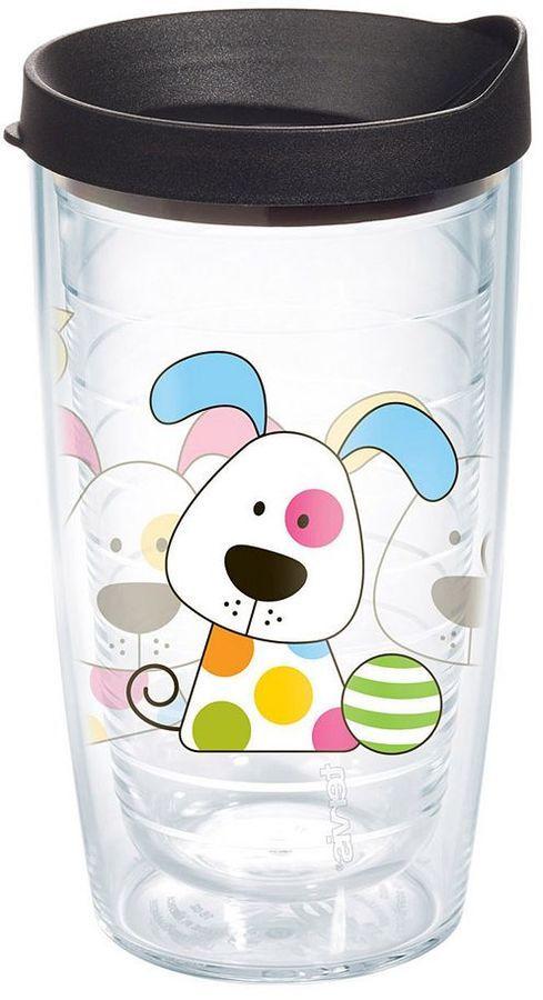 03c11fce6fa Tervis Polka Dot Dog 16-oz. Tumbler | Dogs | Tervis tumbler, Dog ...