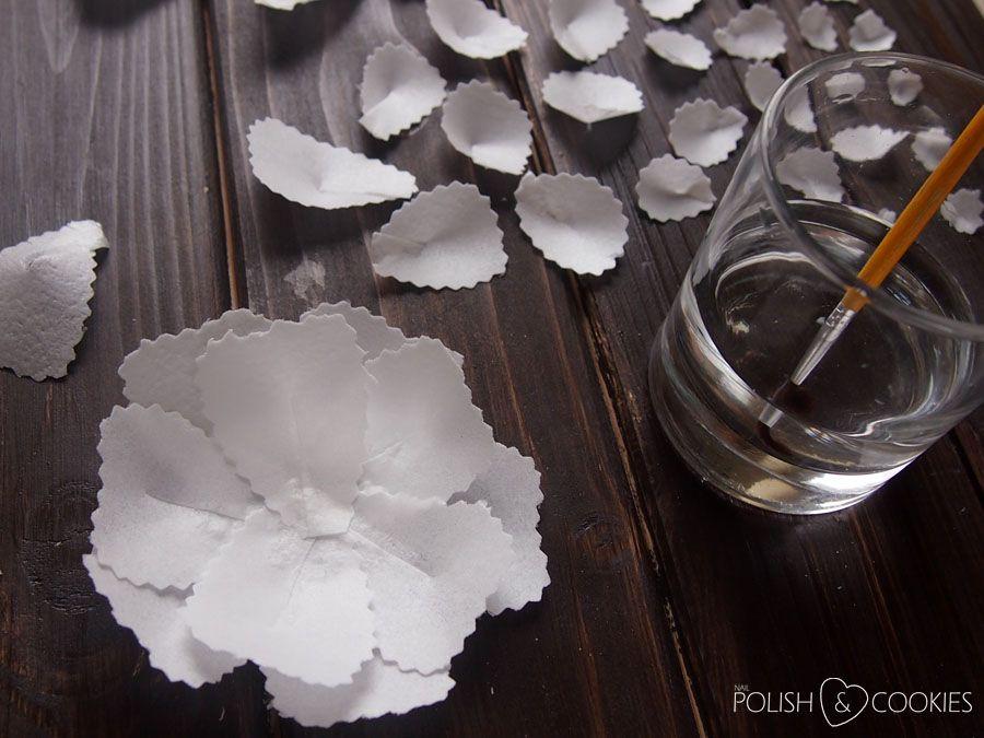 Anemony Z Papieru Waflowego Wafer Paper Anemone Paper