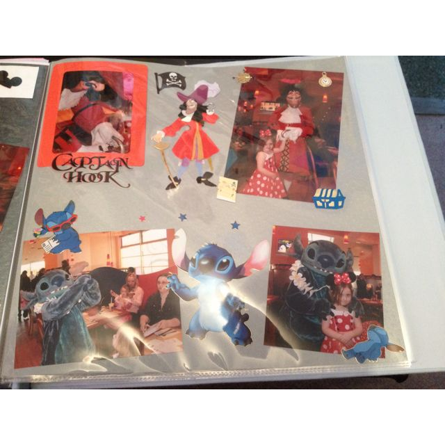 Disneyland paris scrapbook pages