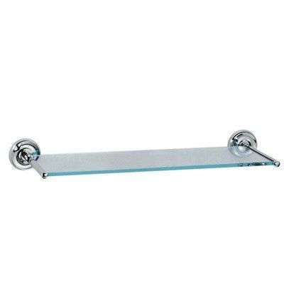 Gatco Designer II Vanity Bathroom Shelf Chrome