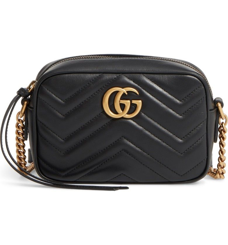 44f577601 Main Image - Gucci GG Marmont 2.0 Matelassé Leather Shoulder Bag ...