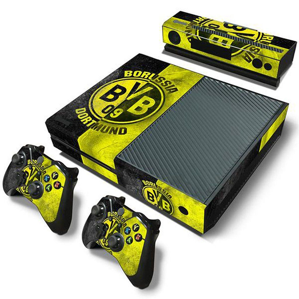 Modfreakz Console And Controller Vinyl Skin Set Yellow Black Soccer For Xbox One Vinyl Xboxone Accessories Diy Xbox One Skin Xbox One Xbox One Console
