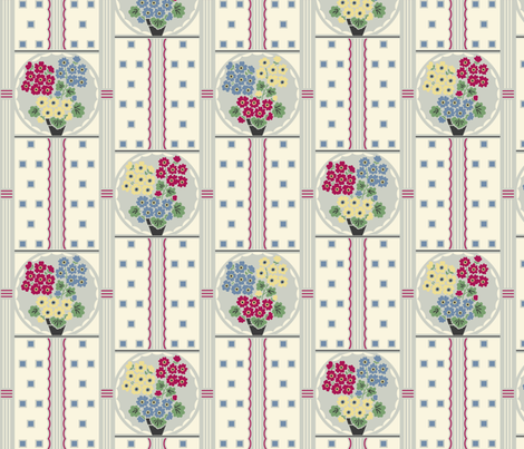 Colorful fabrics digitally printed by Spoonflower