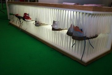 Selfmade Schuhregal aus Besen