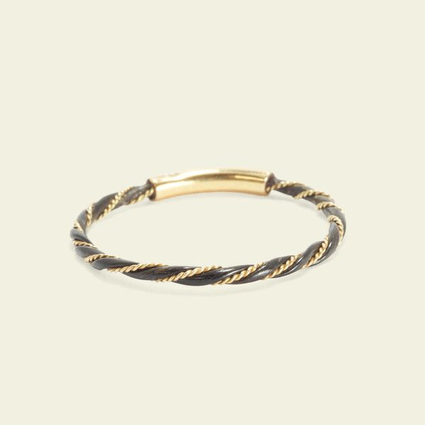 3de20b812 Double Twist Elephant Hair Ring, $375.00 | All Our Jewels | Hair ...