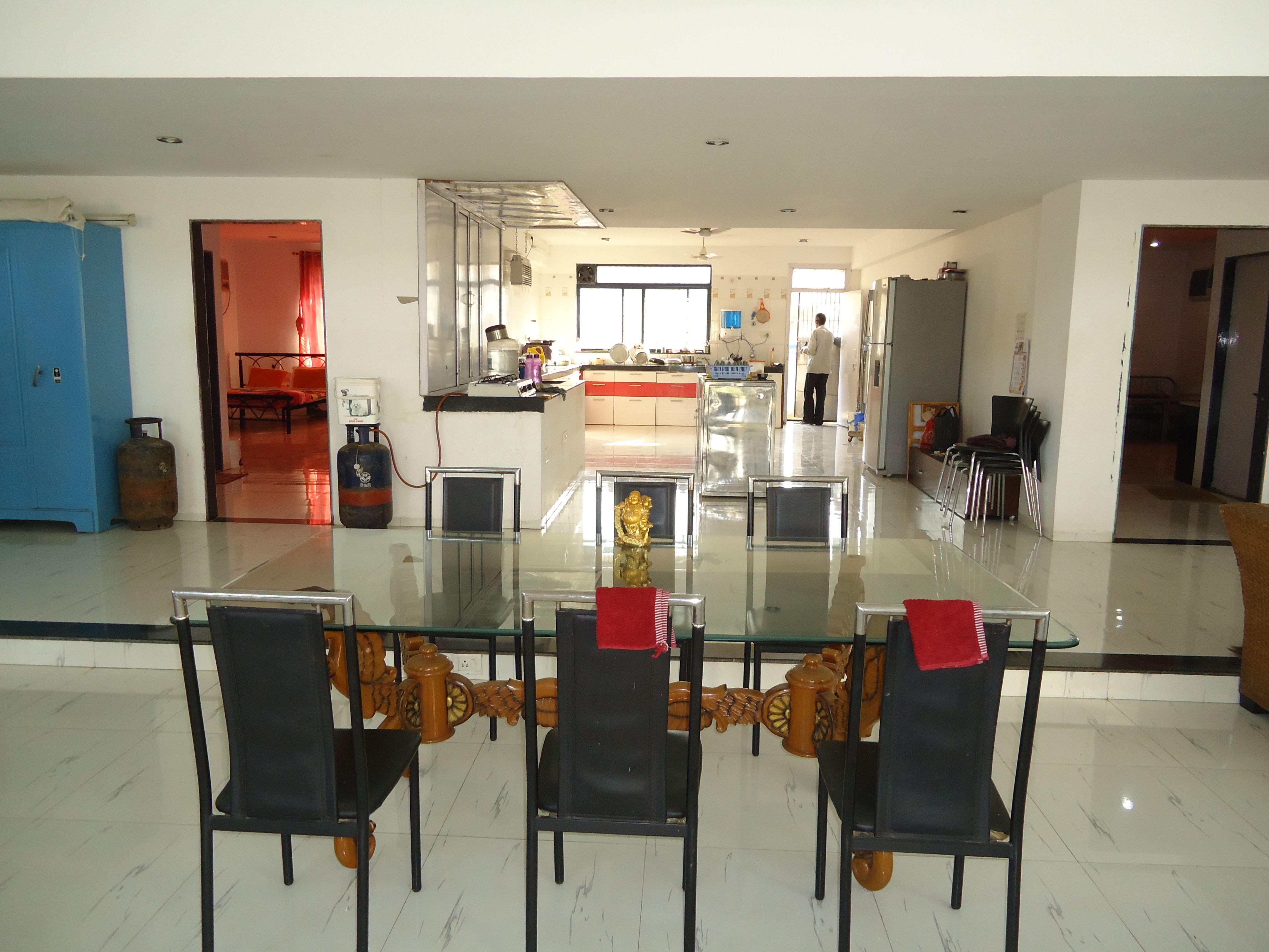 Kitchen Amenities at farmhouse in Karjat. vacationrental