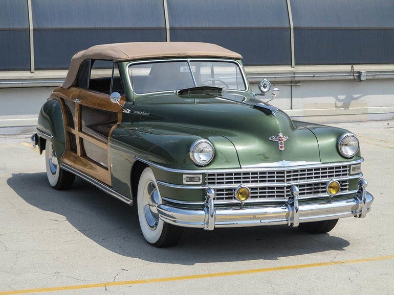 1948 Chrysler Town Country Woody Classic Cars Vintage Ford